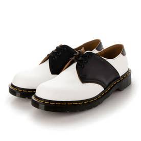 MIE Fashion 1461 Saddle Shoe(1461サドルシュー) 3ホールシューズ SMOOTH/VINTAGE SMOOTH (WHITE+B