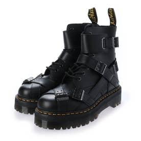Quad Retro Jadon Strap(ジェイドン ストラップ) 8ホールブーツ (Black)