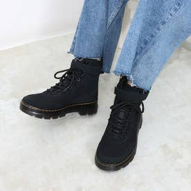 Tract Combs Tech(コム テック) 8ホールブーツ CANVAS/HI SUEDE WP (BLACK)