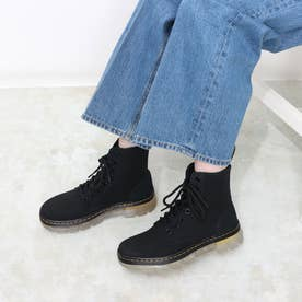 Tract Combs 2(コム2) 8ホールブーツ CANVAS/HI SUEDE WP (BLACK)