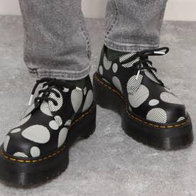 Quad Retro 1461 Quad 3 Eye Shoe(1461 クァッド 3ホールシューズ) POLKA DOT SMOOTH (BLACK+WHIT