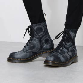 Core 1460 Pascal(1460 パスカル) 8ホールブーツ TIE DYE PRINTED SUEDE (BLACK/CHARCOAL GREY)