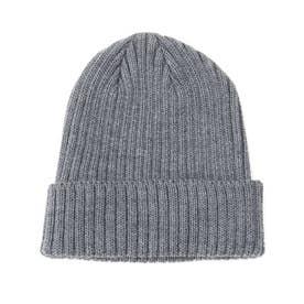 KIJIMA TAKAYUKI ウールニット帽 (ディープグレー)