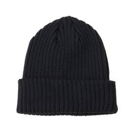 KIJIMA TAKAYUKI ウールニット帽 (ブラック)