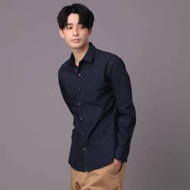 【NAVYS 掲載】レギュラーカラー ベーシックシャツ (ダークネイビー)