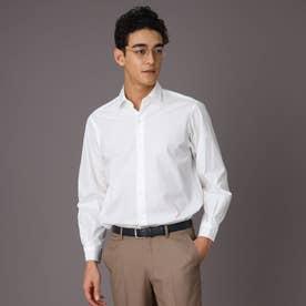 リラックスフィット レギュラカラーシャツ (ホワイト)