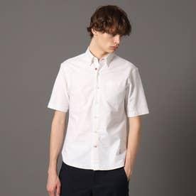 オックスフォード ショートスリーブボタンダウンシャツ (ホワイト)