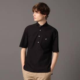プルオーバーショートスリーブシャツ (ブラック)