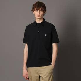 【MonoMax 6月号掲載】シェルテック ドレスポロシャツ (ブラック)