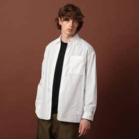 200/2ブロードシャツ (ホワイト)