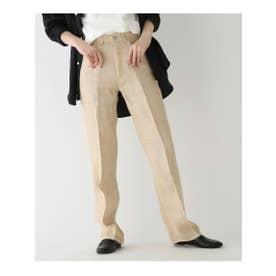 ◆AURALEE リネン5ポケットパンツ (ライトベージュ(051))
