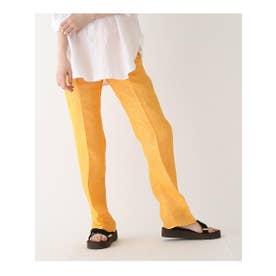 ◆AURALEE リネン5ポケットパンツ (オレンジ(067))