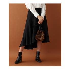 ◆MADISONBLUE 切り替えイレヘムスカート (ブラック(019))