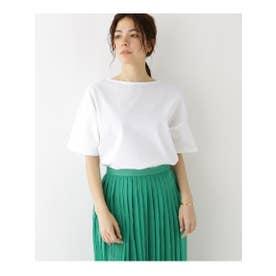 バスク天竺ドロップTシャツ (オフホワイト(003))