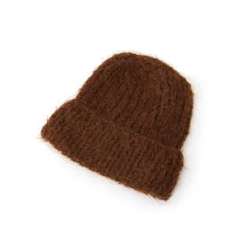 KARAKORAM ACCESSORIE ウールニット帽 (ダークブラウン)