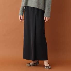 ストレートロングスカート (ブラック)
