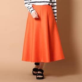 ◆【GLOW/STORY4月号掲載】パネルフレアスカート (オレンジ)