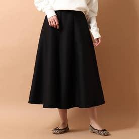 ◆【GLOW/STORY4月号掲載】パネルフレアスカート (ブラック)