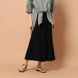 マーメイドフレアニットスカート (ブラック)