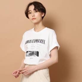 GOOD ROCK SPEED(グッドロックスピード)GODLIS フォトTシャツ (ホワイト)
