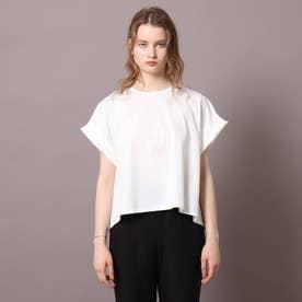 【2WAY】ウルティマコットン フレアTシャツ (オフホワイト)