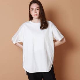 テールヘムビッグTシャツ (ホワイト)