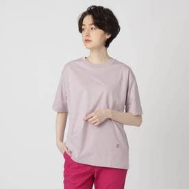 【スタイリスト亀恭子さんコラボレーションアイテム】クラシックプレーンTシャツ (パープル)
