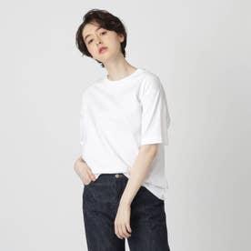【スタイリスト亀恭子さんコラボレーションアイテム】クラシックプレーンTシャツ (ホワイト)