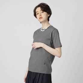 【スタイリスト亀恭子さんコラボレーションアイテム】クラシックプレーンTシャツ (ダークグレー)
