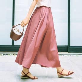【STORY9月号掲載】イージーウエストタフタボリュームスカート (ピンク)