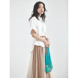 OXワイドシャツ (ホワイト)