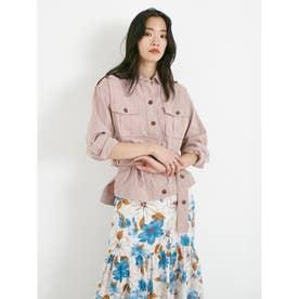 グラインダーワークシャツジャケット (ピンク)