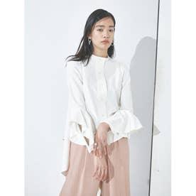 バックロングテールシャツ (ホワイト)