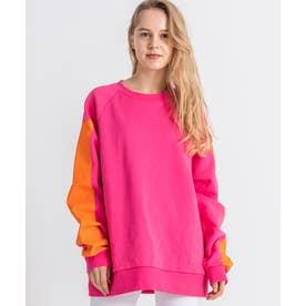 Snow Sweater (Power Pink Block)