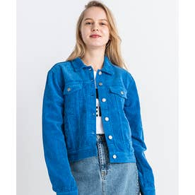 Viva Trucker Jacket (Electric Blue Cord)