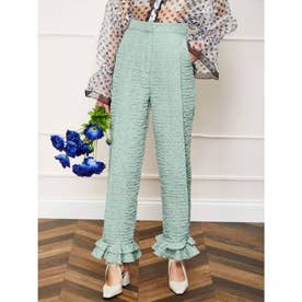 Dapple Lilly Pleated Trousers (GREEN)