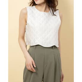 Expectations Tie Back Top (CREAM)