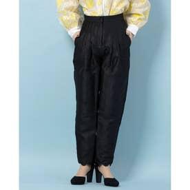 College Jacquard Peg Trousers (BLACK)