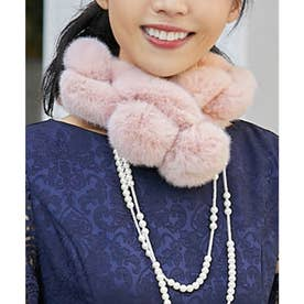 エコファーループチェーンティペット【結婚式】【パーティー】 (ピンク)