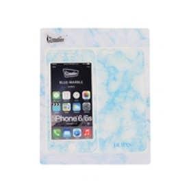 iPhone6/6sシールカバー ブルー