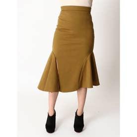 マーメイドスリットスカート (OLIVE)