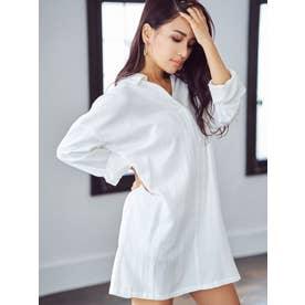 スキッパーシャツ (WHITE)