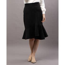 スエードマーメイドスカート (BLACK)