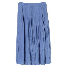 消しプリーツスカート (BLUE)