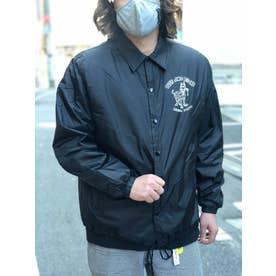 DUST AND ROCKS × Yutaka Nojima Coach Jacket -Dog Race- (BLK)