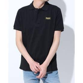 【 LONSDALE × 】Logo Polo-shirts (BLK)