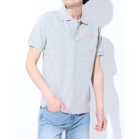 【 LONSDALE × 】Logo Polo-shirts (GRY)