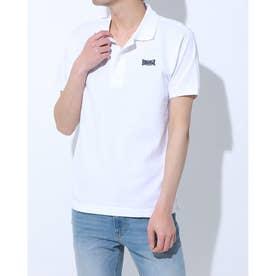 【 LONSDALE × 】Logo Polo-shirts (WHT)