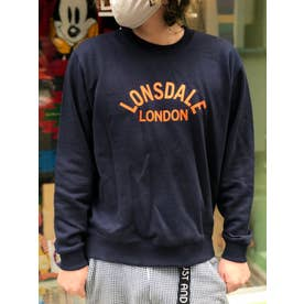 【 LONSDALE × 】SWEAT SHIRT (NVY)