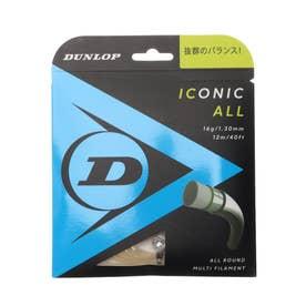 硬式テニス ストリング アイコニック・オール DST31001 (ホワイト)